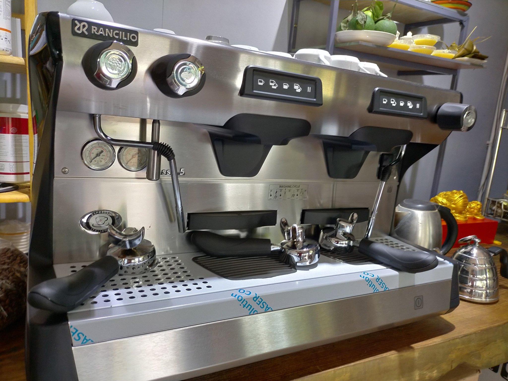 Máy pha cà phê Rancilio Classe 5 USB - Quốc Lộc Coffee